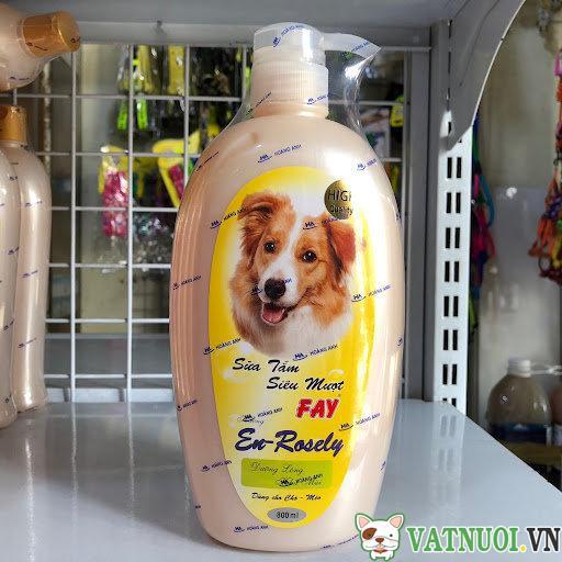 Sữa tắm cho chó