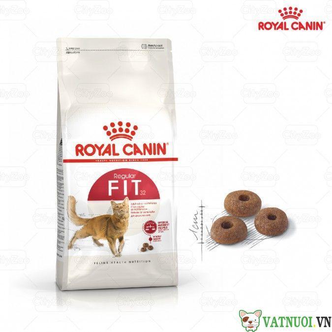 royal canin fit32 cho meo van dong nhieu