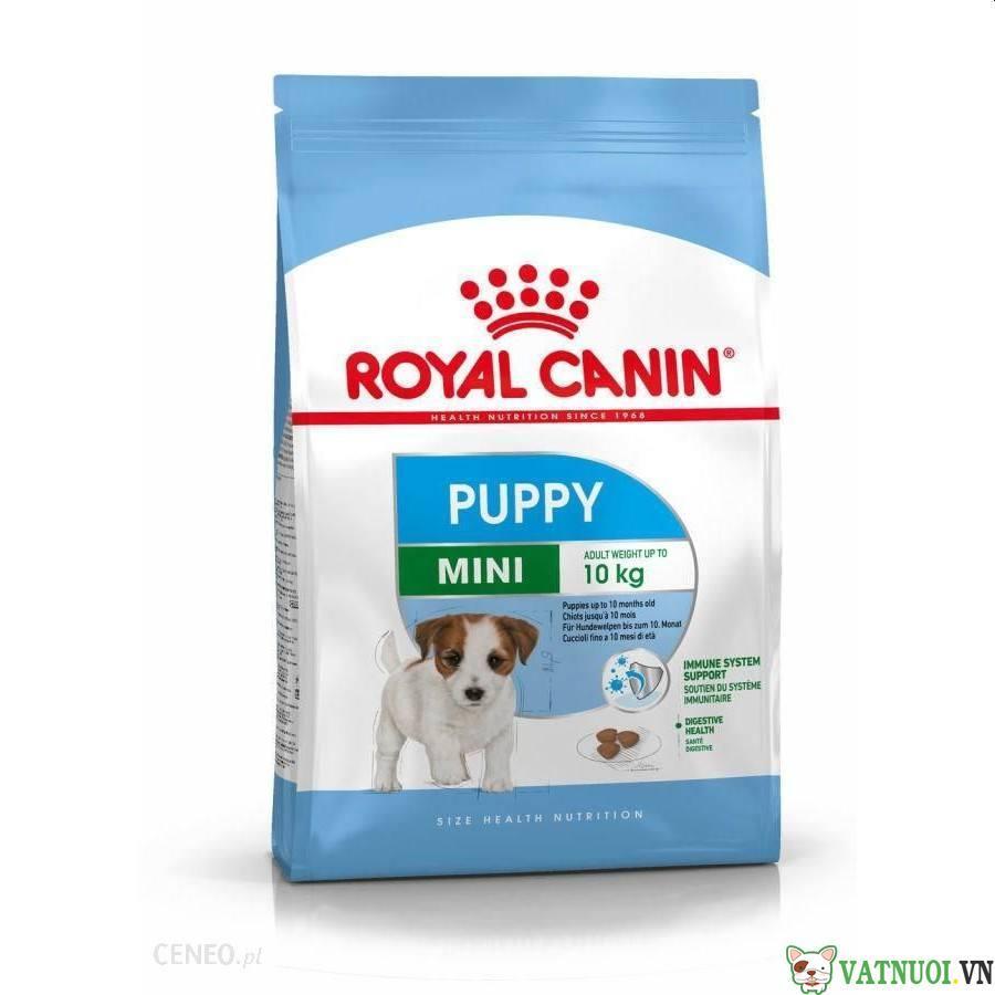 thức ăn cho chó nhỏ royal canin mini puppy
