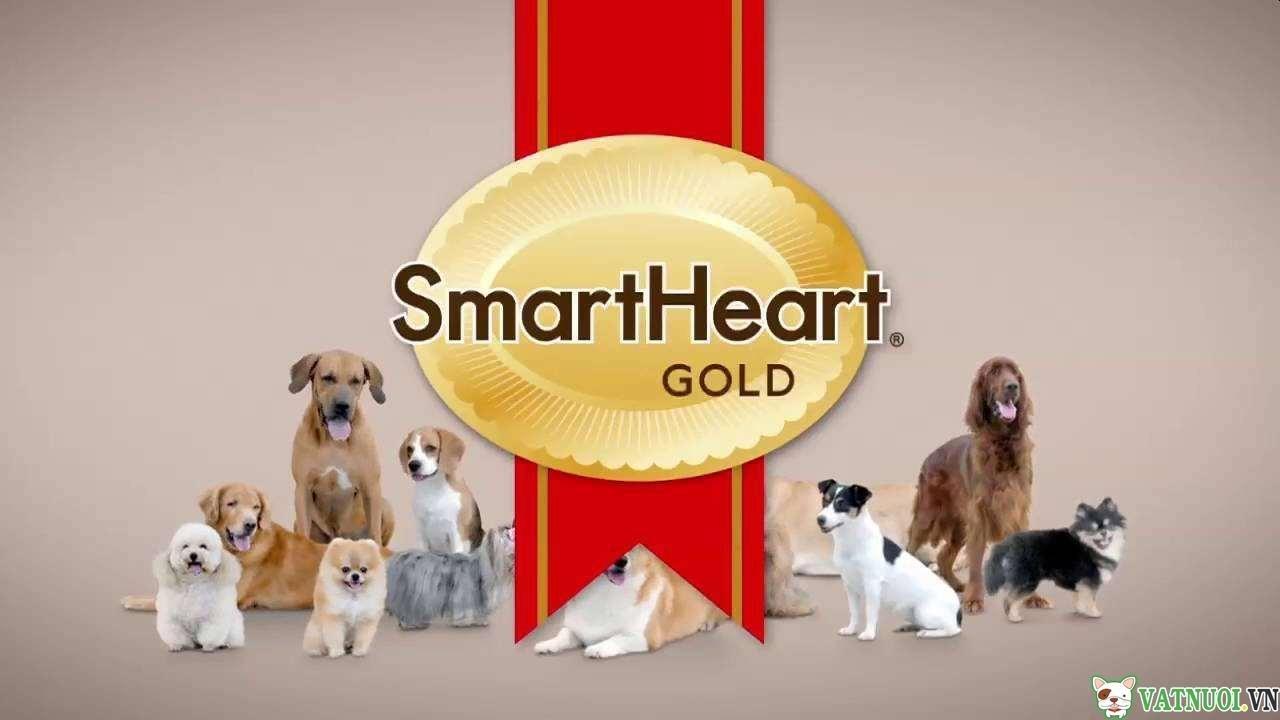 thương hiệu thức ăn cho chó smartheart brand