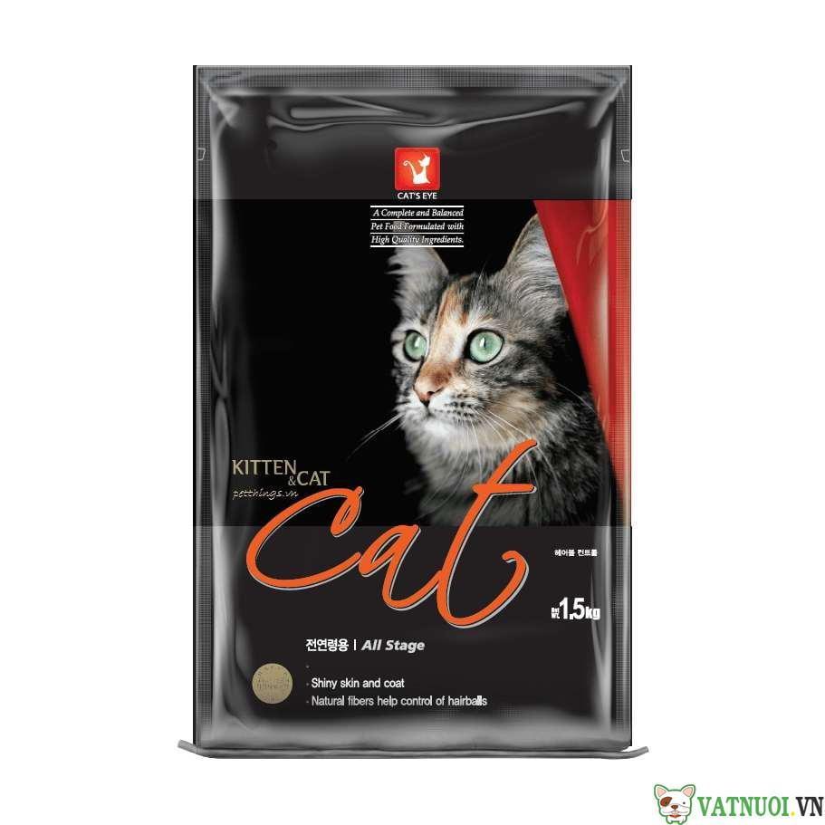 thức ăn hạt cho mèo cats eye kitten and cat