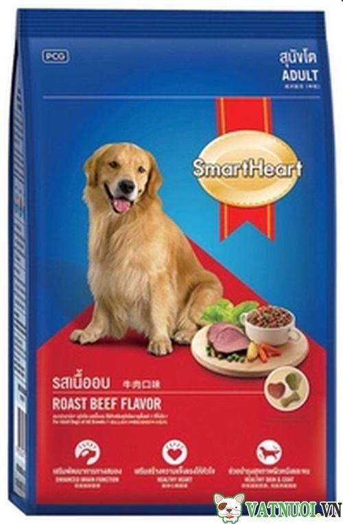 thức ăn cho chó smartheart adult