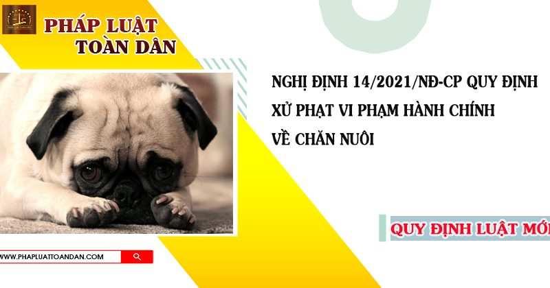 nghi dinh 14 ve chan nuoi